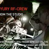 Ad-M vs. Yury - RadiOzora 2014 (studio mix)