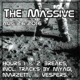 2016 08 26: The Massive