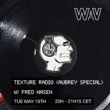 Texture Radio (Aubrey Special) w/ Fred Nasen at We Are Various | 19-05-20