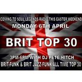 Brit Funk & Brit Jazz Funk All Time Top 30 - 06/04/15