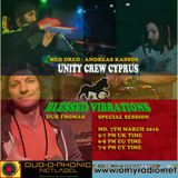 Blessed Vibrations / Unity Crew in Session @ OMY Radio