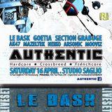 LE BASK Liveset @ AUTHENTIC II (Strasbourg) I6.4.2oI6