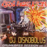 dj Diskobolus - Angi Music Pub drum&bass live session vol 1 - october 2000
