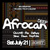 Chris NG live @ Afrocan Deep 21 Jul 18