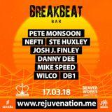 Rejuvenation Breakbeat Bar 17th Mar 2018