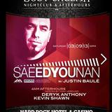 SAEED YOUNAN - Live at BodyEnglish Hardrock Las Vegas March 2013