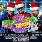 STREET-KNOWLEDGE RADIO SHOW 29 12 2014 BIG FREESTYLE SESSION !