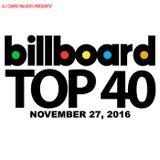 BILLBOARD TOP 40 (clean 11/27/16)