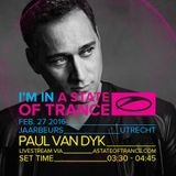 Paul Van Dyk -  Live @ A State Of Trance Festival, Mainstage (Utrecht, Netherlands) – 27-FEB-2016
