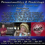 Paranormalities & Ponderings - featuring guest Kat Hobson from SCARE Alabama! Hosted by Frank Lee