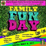 {LIVE SET | CLEAN } FAMILY FUN DAY - Alpha Kappa Alpha Sorority, Incorporated Kappa Nu Omega Chapter