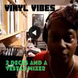 Vinyl Vibes: 2 Decks and A Vestax Mixer #4 | FBK Live | by Marcia DaVinylMC