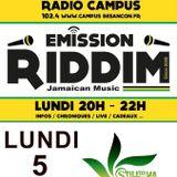 Emission RIDDIM 5 décembre 2016 avec Still Deh Ya