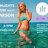Deep Highlights Radioshow Vol.#57 by Helly Larson