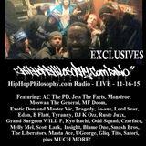 HipHopPhilosophy.com Radio - LIVE - 11-16-15