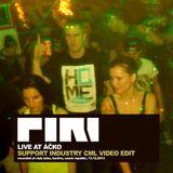 DJ Piri - Live At Áčko (2013-12-13) (Support Industry CML Video Edit)