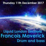 Locked Online Liquid Drum and Bass (Francois Maverick Radio show) 16/11/2017