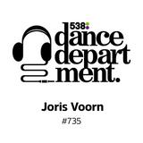 The Best of Dance Department 735 with special guest Joris Voorn