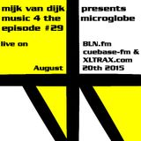 Music 4 The Microglobe #29 (August 2015)