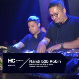 House Cartel August 2018 Podcast: Nandi B2B Robin Warm Up for BOg 14th July at Jenja Jakarta