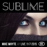 Mike Whyte Live @ Sublime 07-11-2015 Club NL Amsterdam