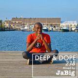 Dancefloor Deep House Grooves Mixed by JaBig - DEEP & DOPE 238