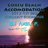 DJ Axel F. - Corfu Beach Accomodation 2012