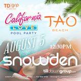 Snowden LIVE at TAO Beach Las Vegas