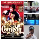 DJ Dmark Live @PizzaarATL for A Slice of Comedy 11/12/13
