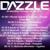 Dazzle's bi-monthly Forcast wk 38 2011