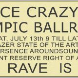 Dave Moore Live Olympic Ballroom
