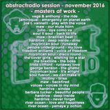 AbstractRadio session - masters at work - november 2016