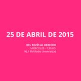 29 ABR 2015 - 25 ABRIL 2015