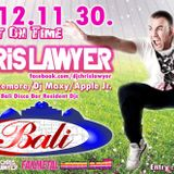 Chris Lawyer - Live @ Bali Disco Bar Zenta Right On Time Party 2012.11.30.