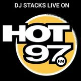 DJ STACKS MIXING LIVE ON HOT 97 (2-18-18)