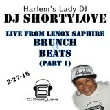 LIVE From Lenox Saphire Brunch & Beats Part 1 (2/27/16)