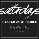 YipYab Live - Caspar vs. J.Airforce // The Warm UP (10.10.14)