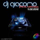 DJ Giacomo live in session 11.02.12