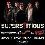 """Programa """"E Aí, Vamos Falar de Rock?""""  30/Set/2014 entrevista superstitious"""