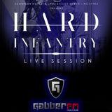 Hard infantry live session on Gabber.fm ft. Pano-RMX 24-02-2015