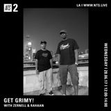Get Grimy w/ Zernell & Rahaan - 28th June 2017