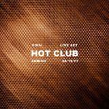 Live Set - Hot Club, Zurich (29/12/17)