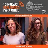 Entrevista a Gloria Jiménez-Moya en Tele13Radio
