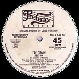 soul funk music . d-train - keep on \ 1982