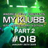 MY KLUBB #018 15th Anniversary Mix Part.2