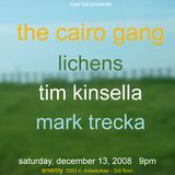JMYS LIVE ARCHIVE - Ep1:Cairo Gang-Lichens-Tim Kinsella-Mark Trecka-Mossy Stones