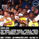 MistaJam - 60 Mins Live -BBC 1Xtra - Pro Green, General Levy, Lethal B, Skepta, JME, Jammer, Footsie