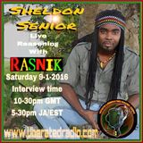 Sheldon Senior...Interview..Liberated Radio.