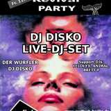 DJ DISKO Live-DJ-Set@WALFISCH Revival Party (11.07.2014)