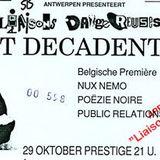 Domino ( BRT2 radio met Luc Janssen ) meets Liaisons Dangereuses in juli 1988